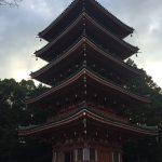 竹林寺 五重塔